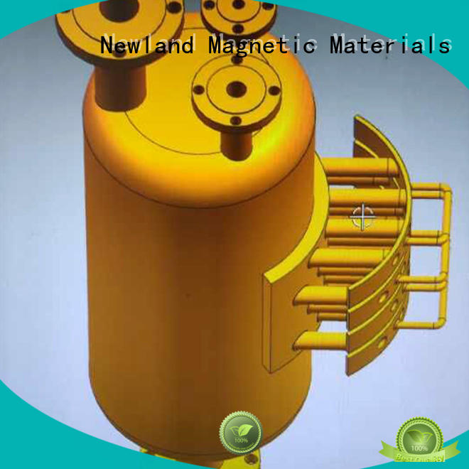 Newland bulk production industrial magnetic sweeper chemical filtration