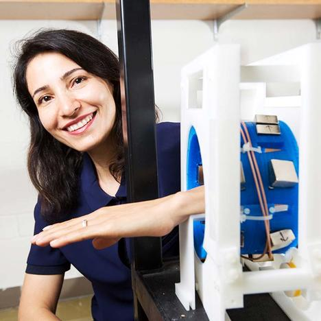 Permanent magnet for portable MRI