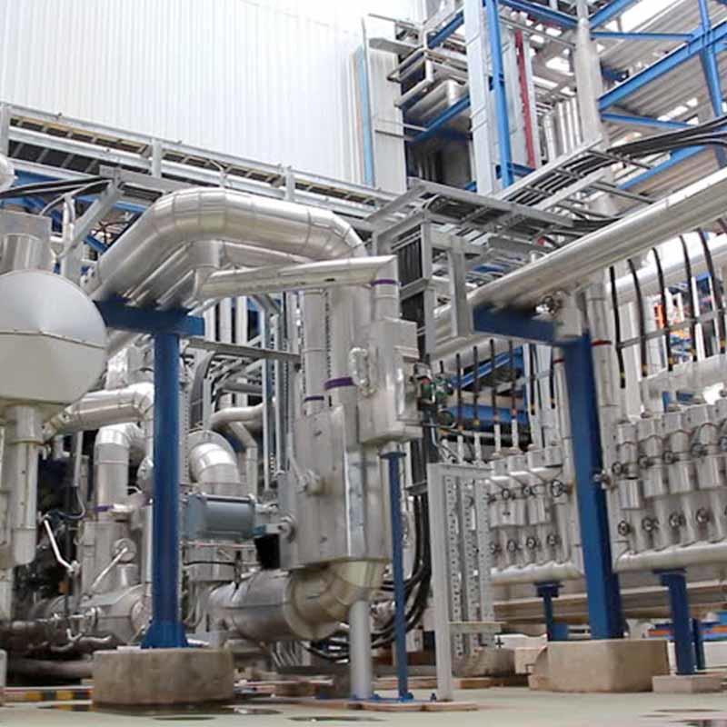 Magnetic bar/grid for chemical filtration
