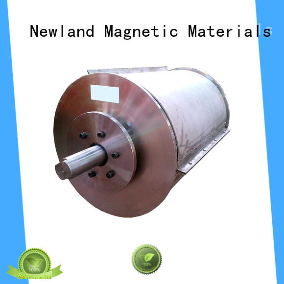 Newland factory price drum magnet concrete for gps