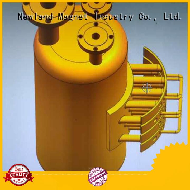 Newland hot-sale oil filter magnet bulk production equipment