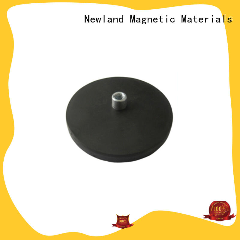 Newland magnetic neodymium magnet rubber for tracker