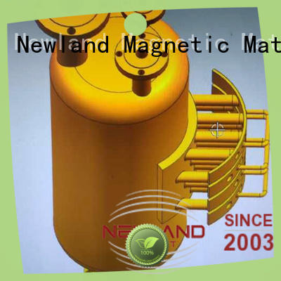 Newland factory price magnetic sweeper equipment