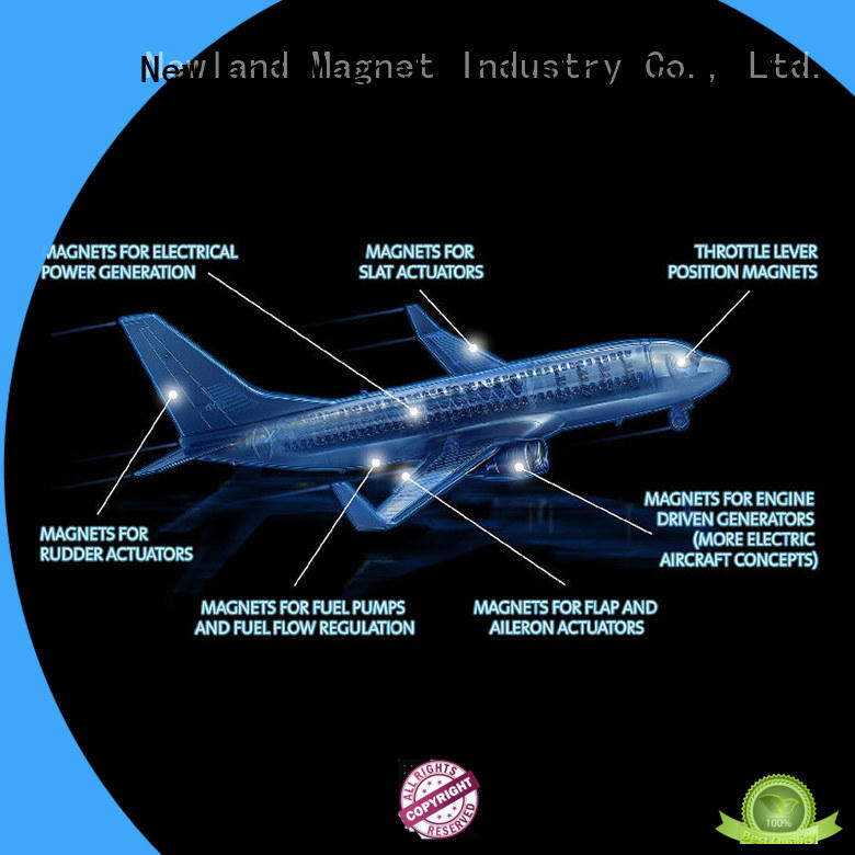 Newland Brand aerospace magnetic magnet assembly magnets supplier