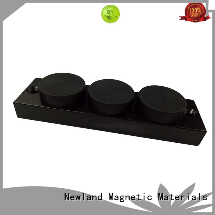 Newland pulley magnet separator for robots