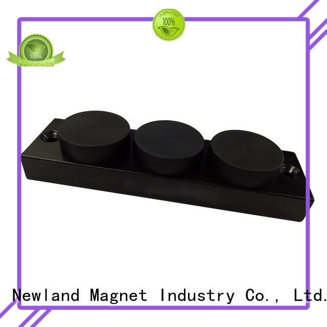 super strong neodymium ring magnets rubber for tracker
