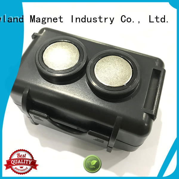 Newland customized neodymium ring magnets concrete for tracker